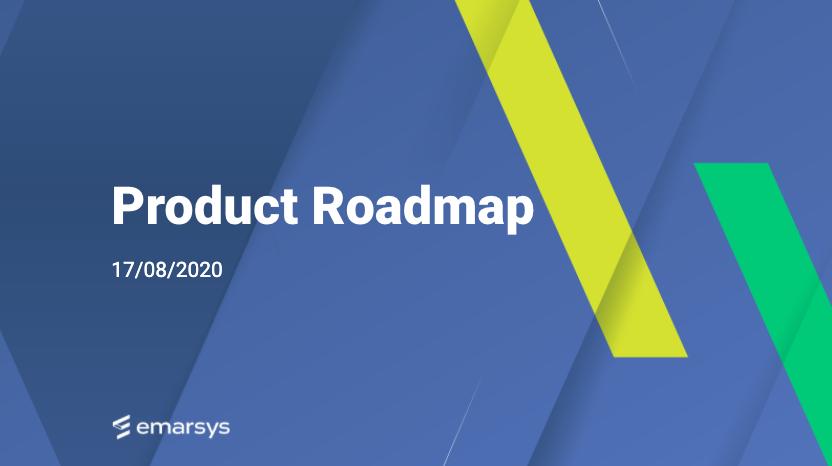 Die Emarsys Produkt-Roadmap – Emarsys